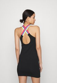 SIKSILK - SPECTRUM TAPE DRESS - Jersey dress - black - 2