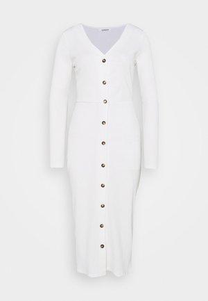 FRIDAY LONG SLEEVES BUTTON FRONT DRESS - Sukienka letnia - black