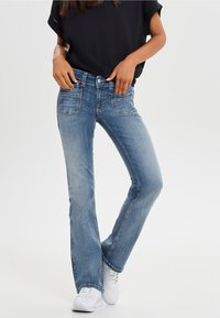 ONLY - Bootcut jeans - dark blue - 0