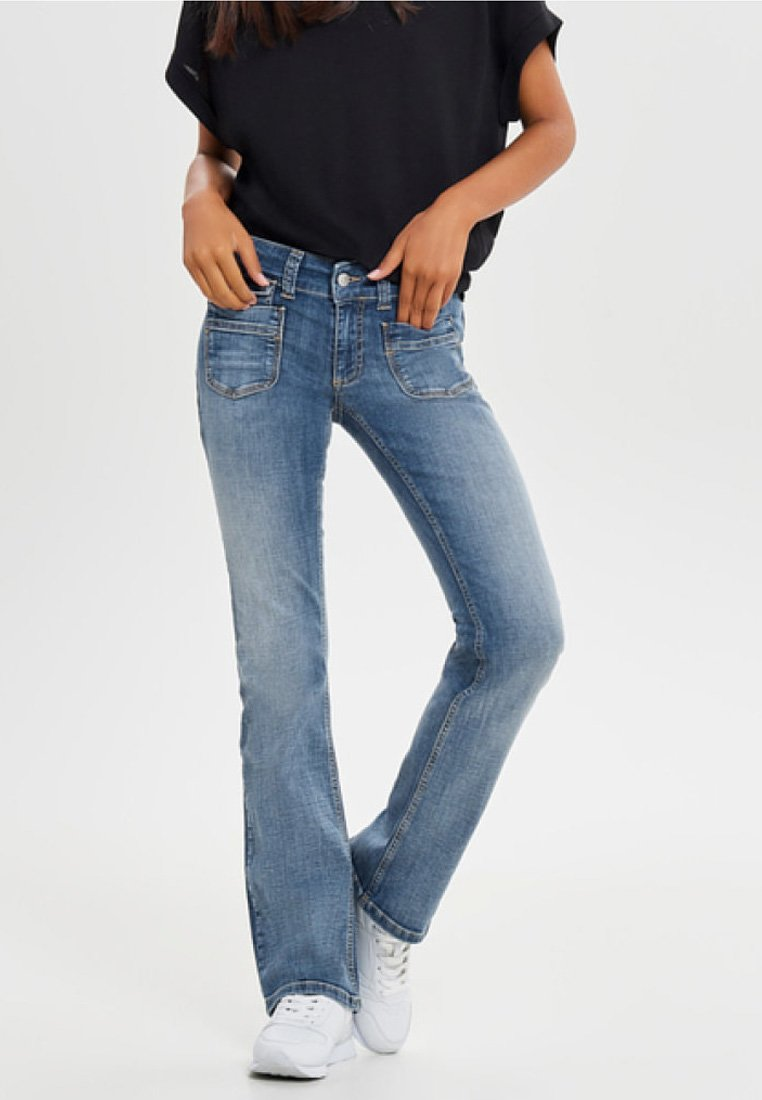 ONLY - Bootcut jeans - dark blue