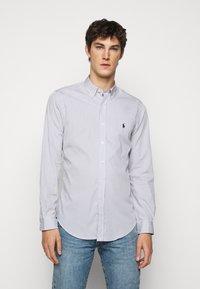 Polo Ralph Lauren - NATURAL - Shirt - grey/white - 0
