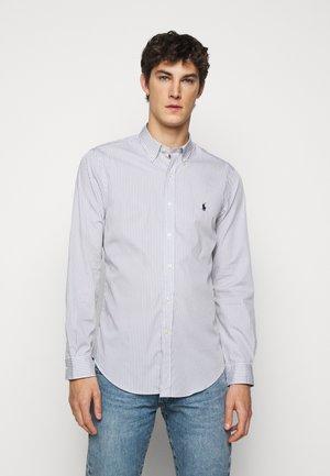NATURAL - Hemd - grey/white