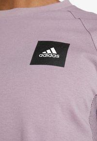 adidas Performance - Print T-shirt - legacy purple - 4