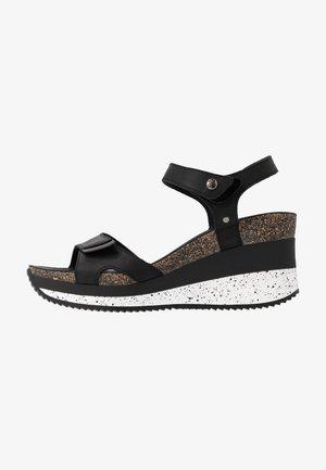 NICA SPORT - Platform sandals - schwarz