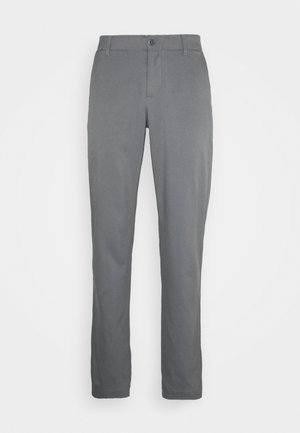 TAKEOVER GOLF PANT TAPER - Chino - pitch gray