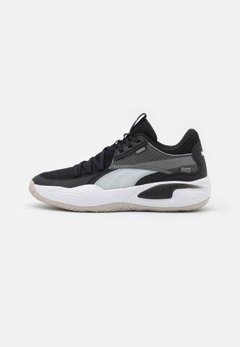 COURT RIDER - Basketbalschoenen - white/black