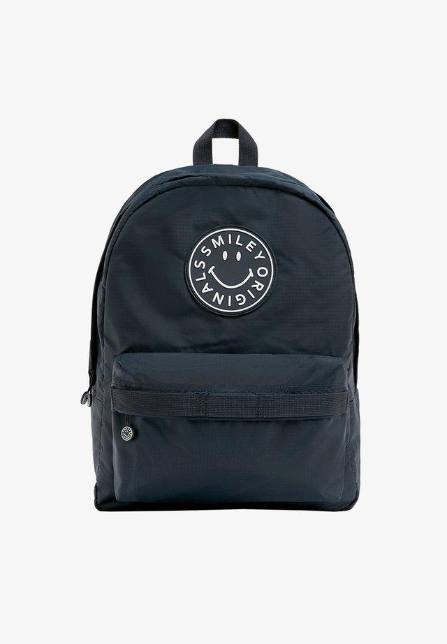 SMILEY-LOGO - Backpack - blue