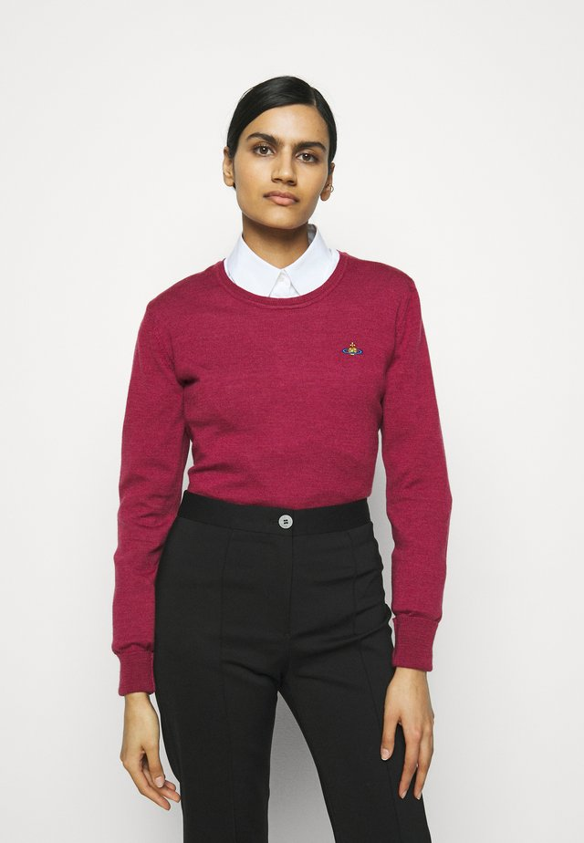 BEA JUMPER - Neule - red