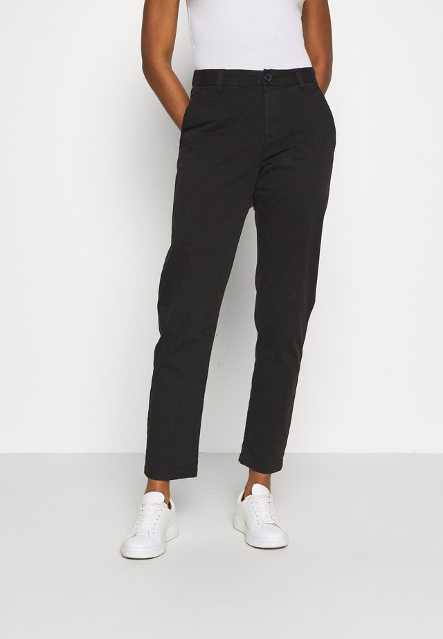WILLOW SLIM - Chino - black jet