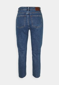 ONLY Petite - ONLEMILY RAW - Straight leg jeans - dark blue denim - 1