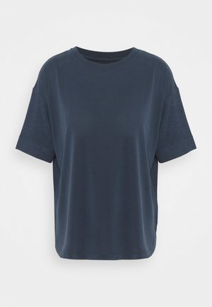 ECOV TEE - T-shirt con stampa - navy
