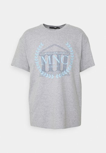 UNISEX - T-shirt med print - grey