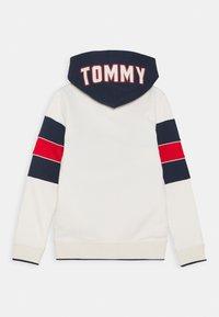 Tommy Hilfiger - COLORBLOCK HOODIE - Zip-up hoodie - offwhite - 1