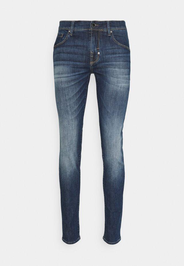GILMOUR SUPER SKINNY FIT - Jeans Skinny Fit - blu denim