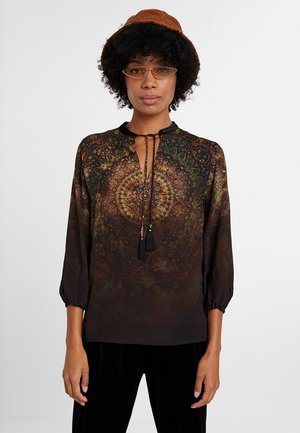 LUXOR - Blouse - black