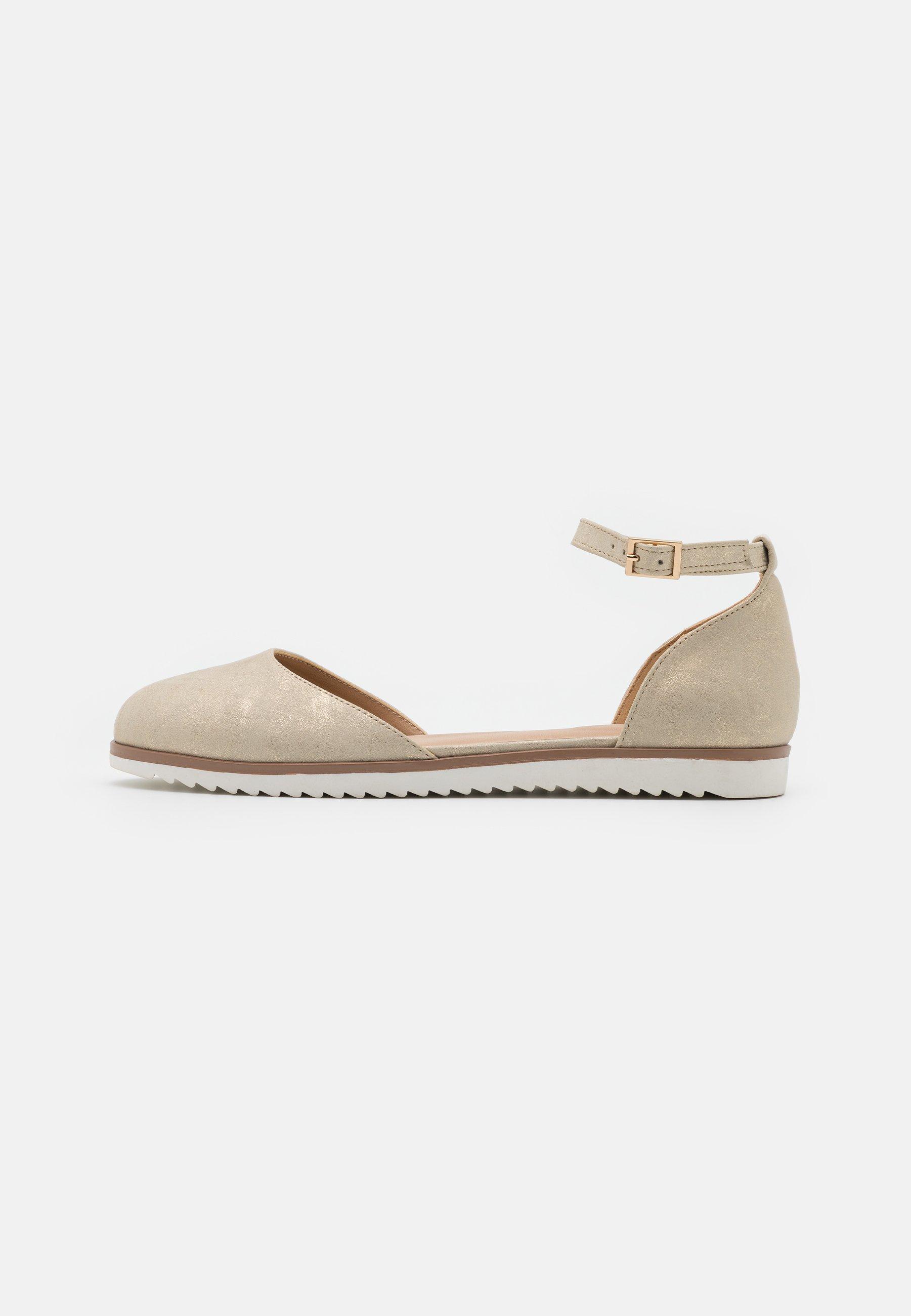 Women COMFORT - Ankle strap ballet pumps