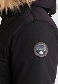 Napapijri - SKIDOO OPEN LONG - Zimní kabát - black - 5