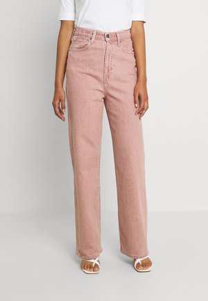 HIGH LOOSE - Straight leg jeans - pink sands