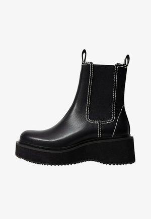 TEEN - Classic ankle boots - zwart