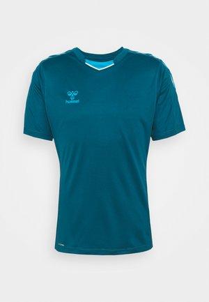 CORE XK - T-shirt med print - blue coral