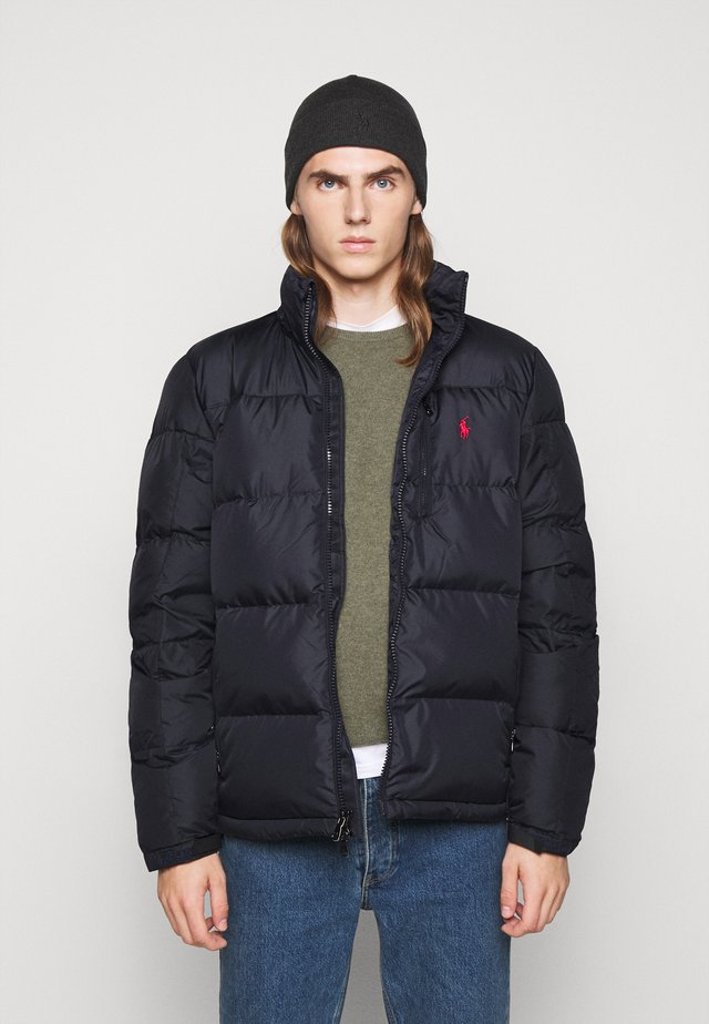 RECYCLED CAP JACKET - Down jacket - collection navy