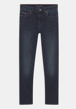 SIMON SKINNY  - Jeans Skinny Fit - dark-blue denim