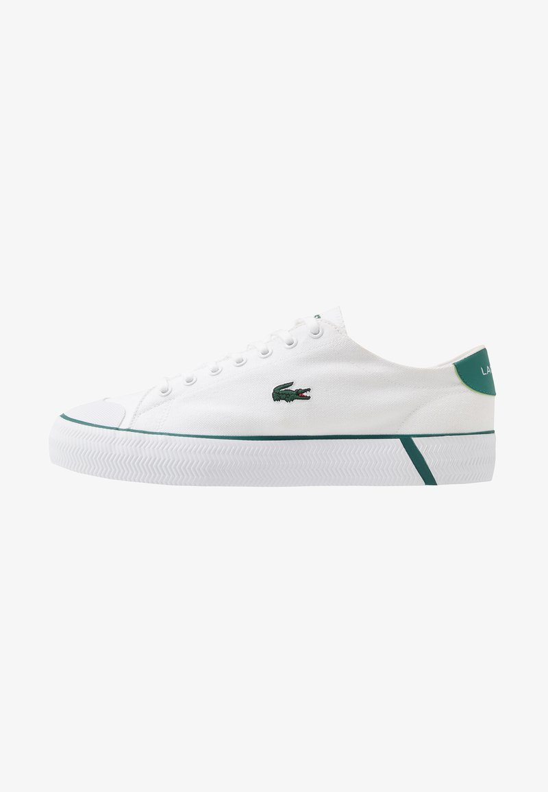 Lacoste - GRIPSHOT - Sneakers - white/green