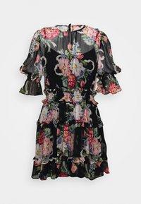 PRETTY THINGS MINI DRESS - Denní šaty - black