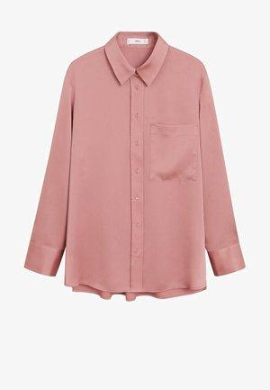SATINI - Button-down blouse - rosa