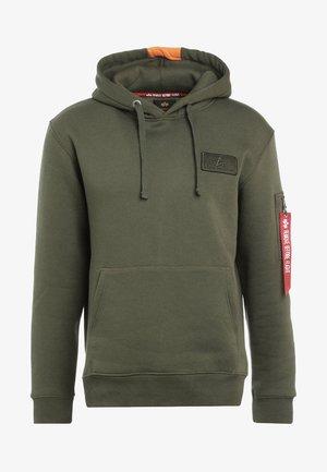 Hoodie - dark green