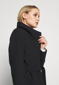 Esprit Collection - PLAIN COAT - Classic coat - black - 4