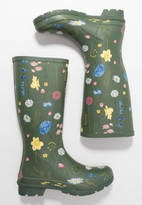 Tom Joule - ROLL UP WELLY - Stivali di gomma - green - 3