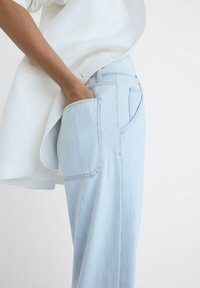 Massimo Dutti - Jeansy Relaxed Fit - blue - 2