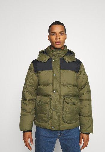 PUFFER JACKET - Winter jacket - olive green