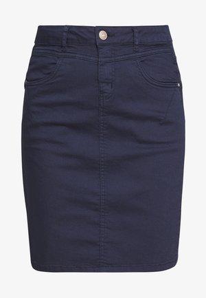 AMALIE SKIRT - Pouzdrová sukně - royal navy blue