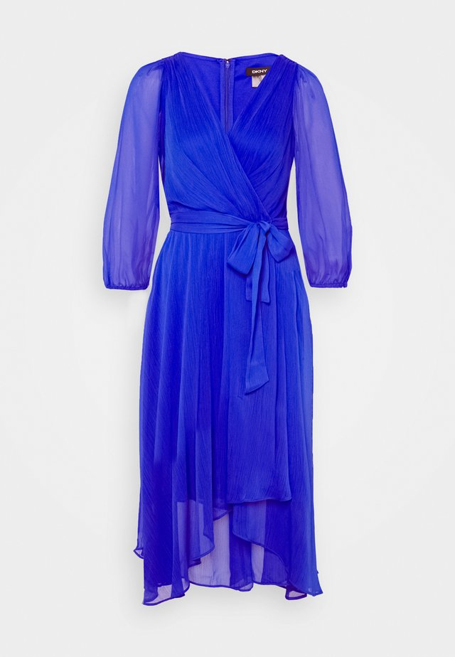 BALLOON SLEEVE  - Vestito elegante - iris