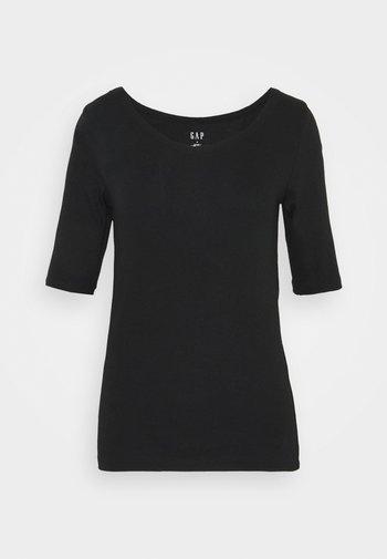 MOD BALLET - Basic T-shirt - true black