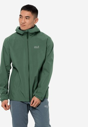 Waterproof jacket - sage