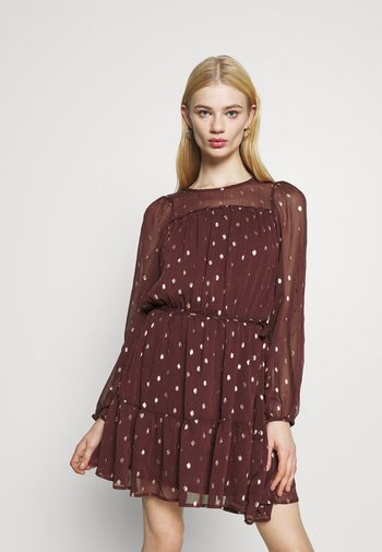 ONLISABELLA DRESS  - Day dress - port royale/gold