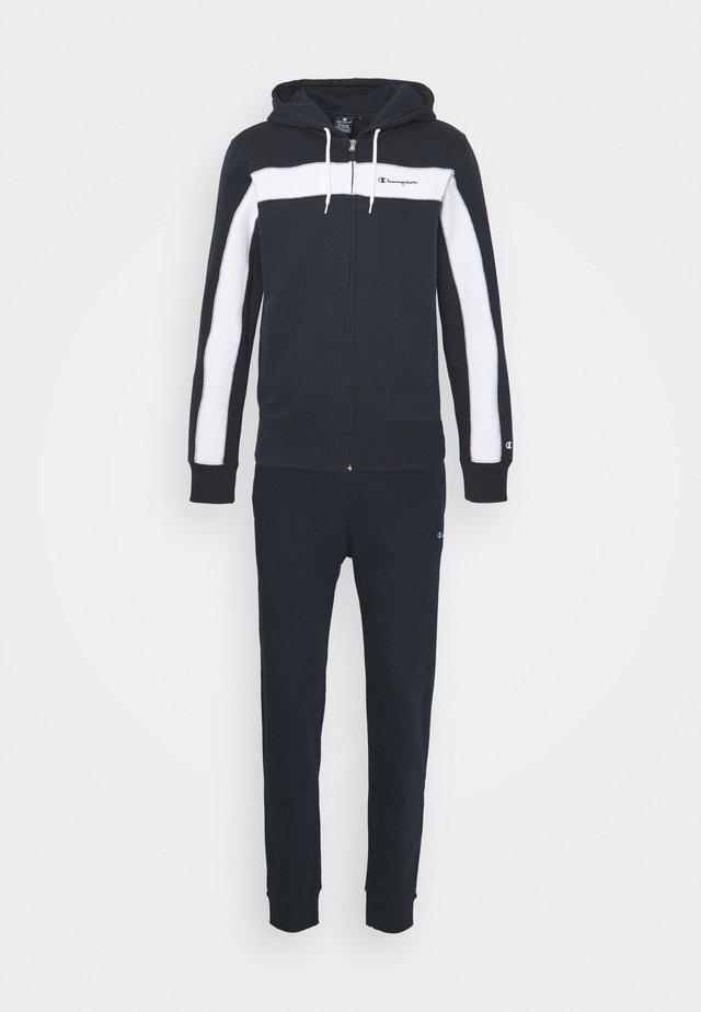 HOODED FULL ZIP SUIT - Trainingsanzug - dark blue