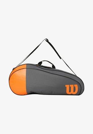 Racket bag - grau orange