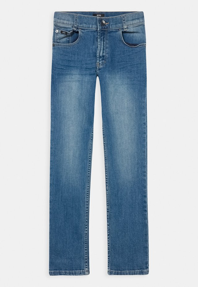 TROUSERS - Jeansy Slim Fit - blue