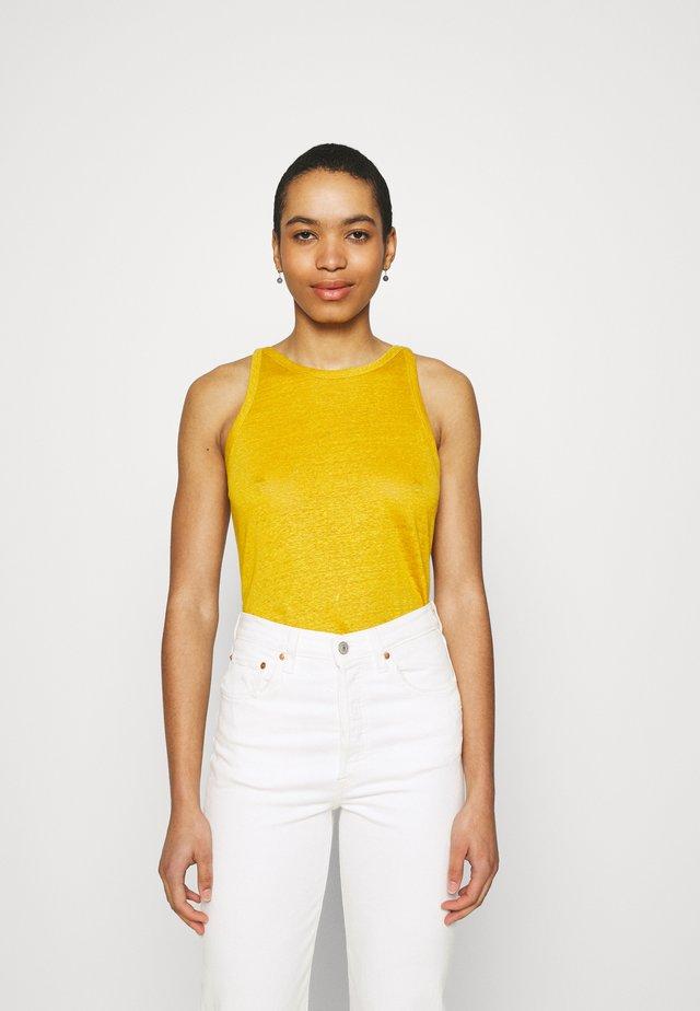 HALTER TANK - Top - golden yellow