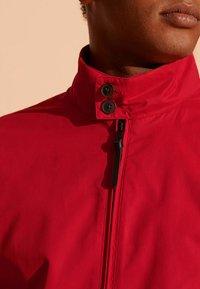 Superdry - HARRINGTON - Summer jacket - red - 2