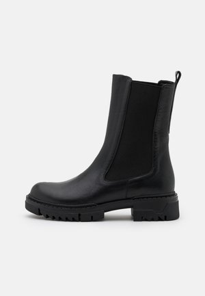 PROFILE CHELSEA BOOTS - Classic ankle boots - black