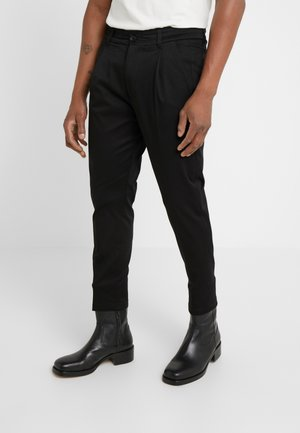 CHASY - Trousers - black