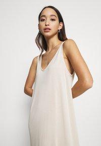 Weekday - ABBY DRESS - Maxi dress - light beige - 3
