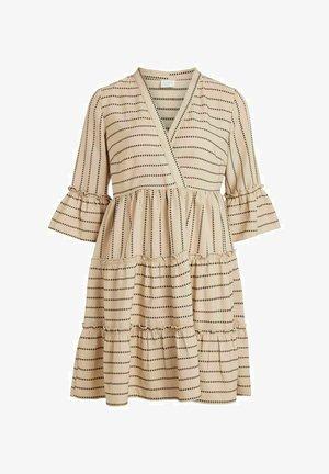 VIETNA 3/4 DRESS - Robe d'été - humus