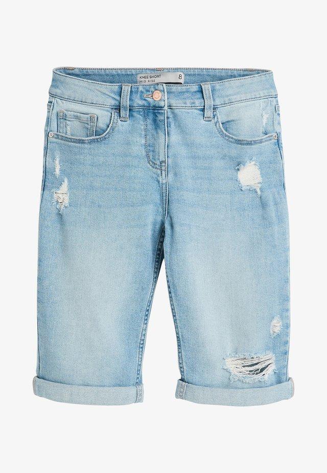Denim shorts - royal blue