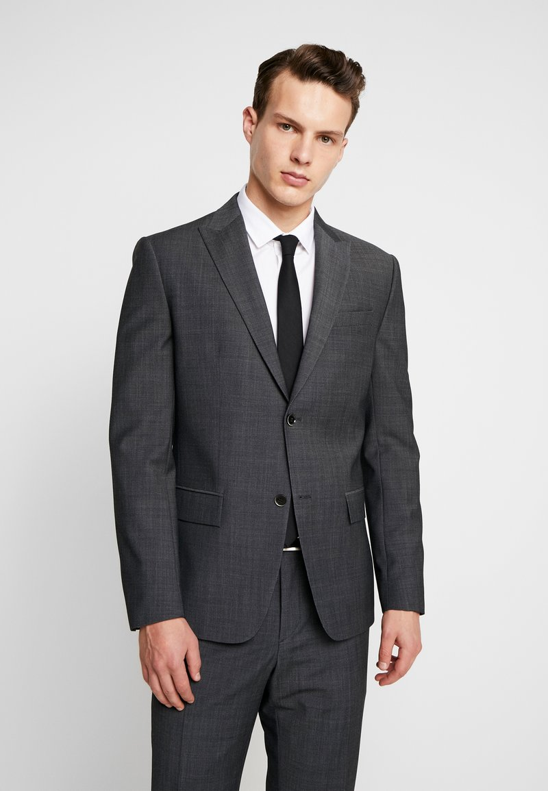 Calvin Klein Tailored - BISTRETCH DOT - Suit - grey